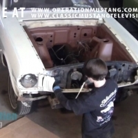 How to Remove Classic Mustang Fenders